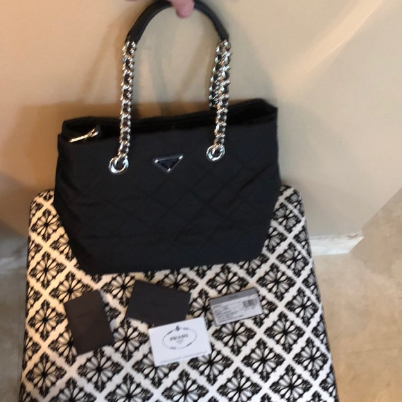 97a8c6da52c7 Prada Bags | Authentic Tessuto Impuntu Bag | Poshmark